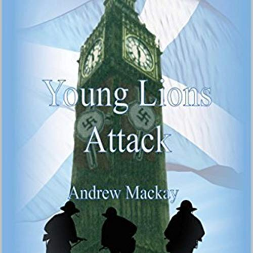 Young Lions Attack audiobook cover art