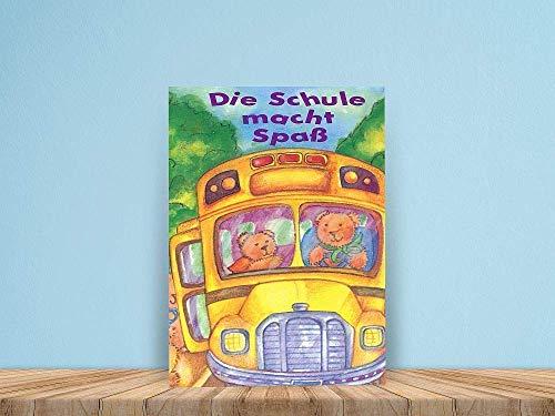 Die Schule macht Spaß - ein personalisiertes Kinderbuch als Geschenk zur Einschulung, Schulanfang