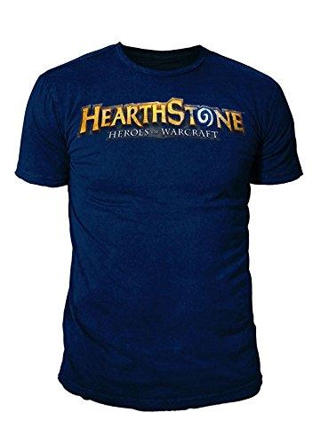 Hearthstone - Premium Herren T-Shirt - Classic Logo (Navy) (S-XL) (XL)