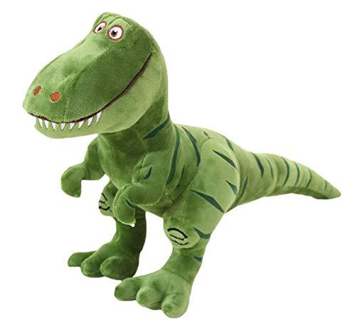 Faneli Plüsch Dinosaurier Form Angefüllte Tier Geburtstagsgeschenke, Bett-Zeit-Plüschtier-Spielwaren, Nette weiche Plüsch T-Rex Tyrannosaurus-Dinosaurier-Abbildung Grün