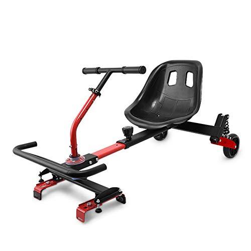 YAHAO Hoverkart Silla para Hoverboard Electrico Hover Kart Ajustable para Patinete Eléctrico...