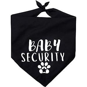 Pawskido Baby Security Dog Bandana,Reversible Triangle Bibs Pet Scarf