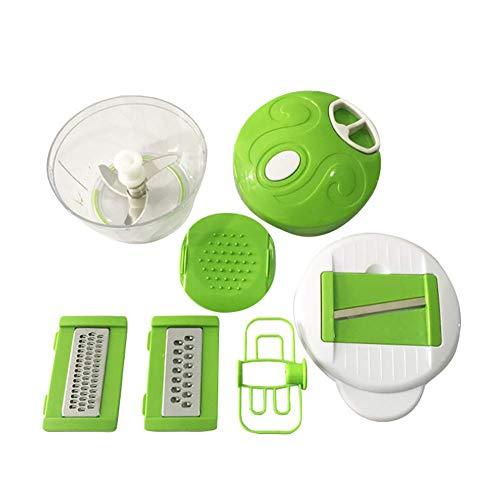Bathrooms Gemüseschneider Zwiebel Zerkleinerer Manuell Küche Küchenmaschine Knoblauchpresse Kartoffelschneider Gemüsereibe Reibe 3 Klingen Küchenwerkzeug