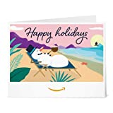 Amazon Gift Card - Print - Snowman Holidays
