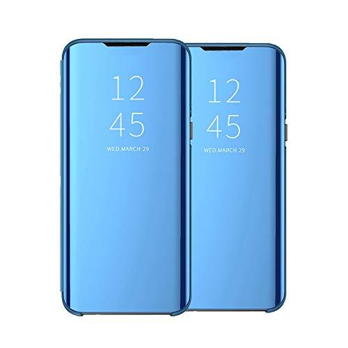 Galaxy A31 Hülle - Clear View Standing Cover für das Samsung Galaxy A31 Handyhülle kompatibel mit Galaxy A31, Spiegel Schutzhülle PU Leder Flip Handy Case Tasche mit Standfunktion für A31-29