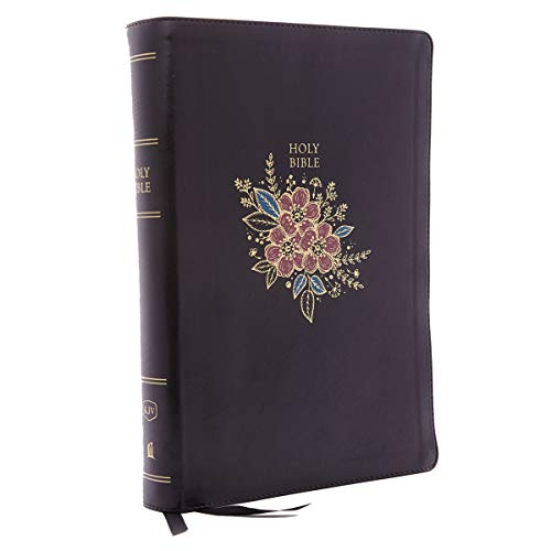 KJV, Deluxe Reference Bible, Super Giant Print, Leathersoft, Black, Red Letter Edition, Comfort Print: Holy Bible, King James Version