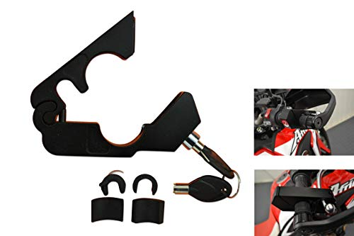 Moto Seguridad Grip Candado Pinza Manillar - Resistente para Moto, Scooter, Quad, Trike, ATV