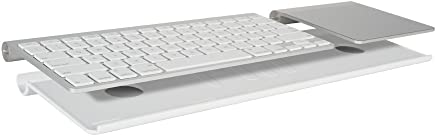 MeshWe BLUAW221 Bluefin | Connects Magic Trackpad to Apple Wireless Keyboard (White) Apple Keyboard and Trackpad NOT Included