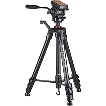 SUNPAK 620-840 Video PRO-M 4 Tripod with Fluid Head  Black
