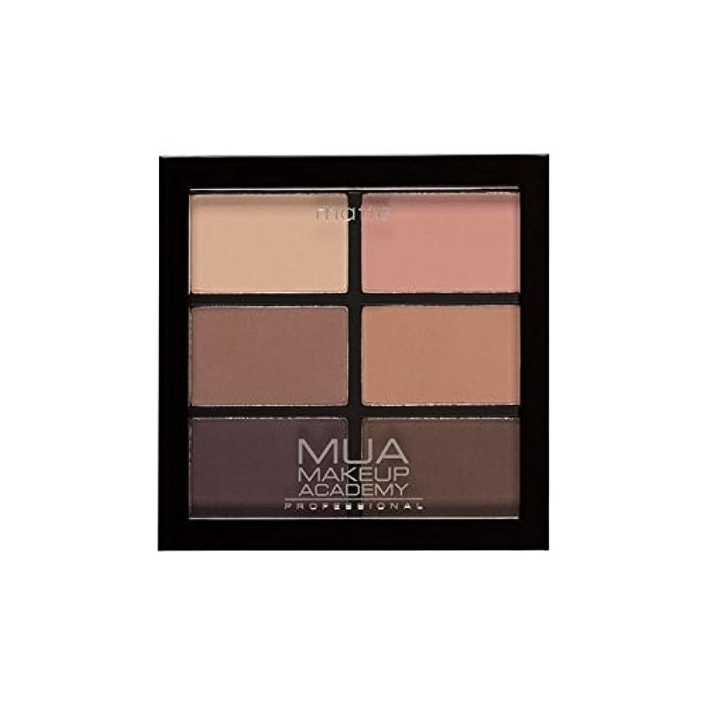 テーマおとなしいフレアMUA Professional 6 Shade Palette Soft Suedes (Pack of 6) - プロ6日陰パレット柔らかいスエード x6 [並行輸入品]