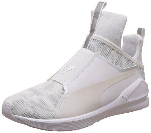 Puma Damen Fierce Swan Wn's Sneakers, Weiß (Puma White-Puma White 02), 41 EU