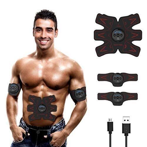 AZHom Stimolanti elettrici ABS Muscle Trainer SME Cintura Addominale stimolatore