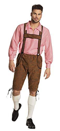 Boland 83570 – Adultes Costume Folat bursche Werner, Pantalon et t-Shirt Taille 50/52