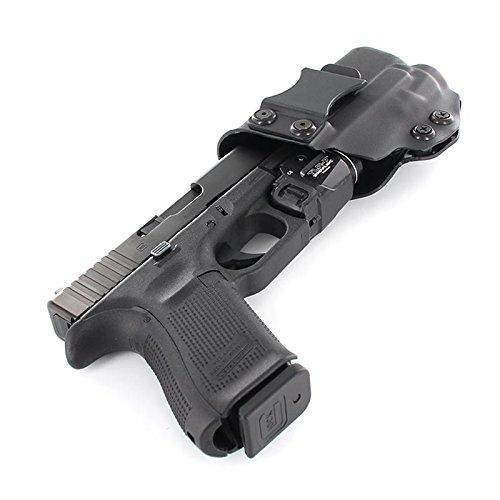 IWB Holster - Streamlight TLR-7 - Black (Right-Hand, Glock...