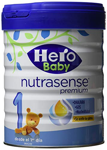 Hero Baby Leche de Inicio, 800g, Pack de 6