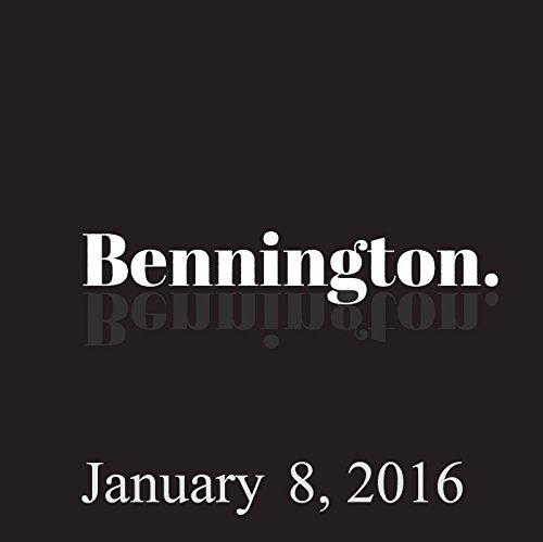 Bennington, Michael Ian Black, January 8, 2016 audiobook cover art