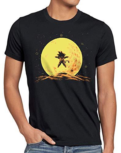 style3 Flying Goku T-Shirt Homme Dragon Songoku z Goku Anime Ball Japon, Size:M;Color:Black