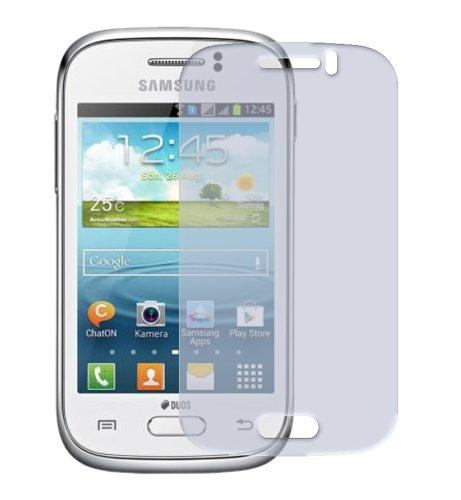 dipos I 2X Schutzfolie klar kompatibel mit Samsung Galaxy Young Duos S6312 Folie Displayschutzfolie