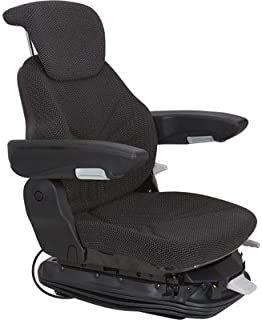 Original Grammer Multi-Adjust Air Suspension Tractor Seat - Black, Model Number 7922