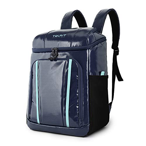TOURIT Cool Bag Rucksack Lightweight Cooler Bag Backpack 30 Cans Large Capacity Insulated Rucksack Hiking Picnic Daypack for Men Women to Camping Work Beach Family Trip Sports