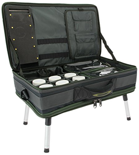NGT Unisex's Table System II Carp Bivvy, Green, One Size