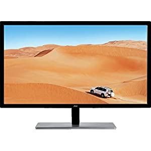 "AOC Q3279VWFD8 31.5"" IPS LED QHD (2560x1440) Freesync 75Hz monitor. (VGA, DVI, HDMI, DisplayPort) 23"