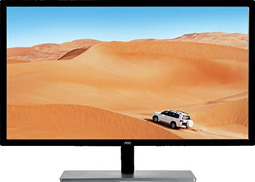 AOC Q3279VWFD8 31.5' QHD 2560x1440 Monitor, 10-Bit IPS Panel, 4ms, 75Hz, Freesync, DisplayPort/HDMI/DVI-D/VGA, Flickerfree