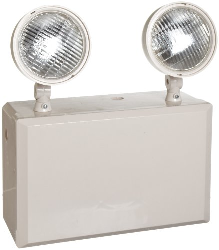 Morris Products 73180 Emergency Lighting Unit with Remote Capacity, 12 Volts, 100W
