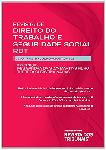 Rdt- Revista de Direito do Trabalho e Seguridade Social 218
