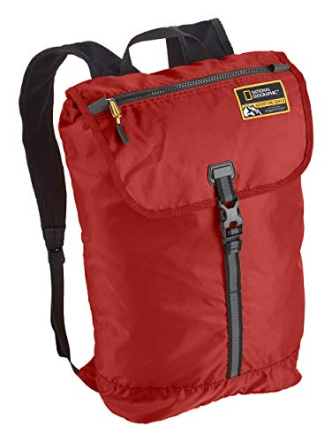 Eagle Creek National Geographic Adventure Packable Backpack, Firebrick, 15L