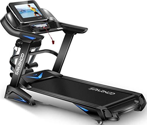 Sparnod Fitness STH-6000 (6 HP Peak) Automatic Treadmill (Free Installation Service) - Foldable...