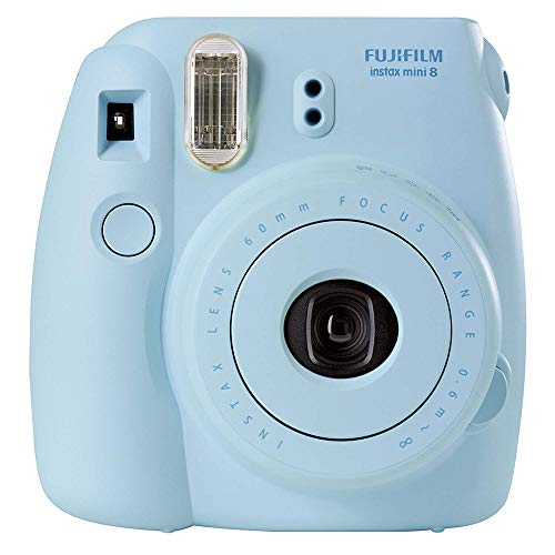 Cámara Instantánea FUJIFILM INSTAX Mini 8 Color Azul Celeste