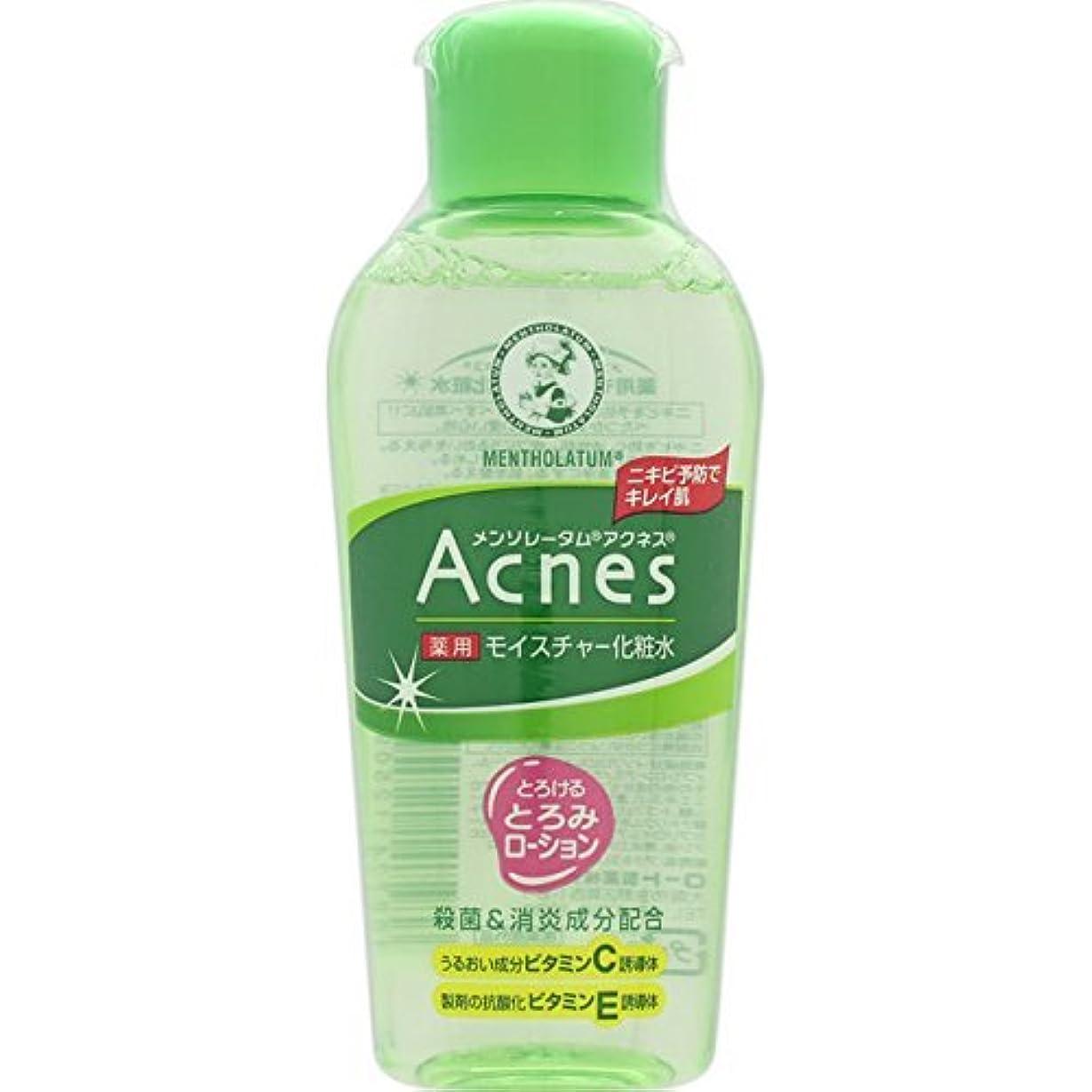 マッサージ嬉しいです壮大なAcnes(アクネス) 薬用モイスチャー化粧水 120mL【医薬部外品】