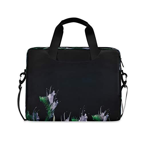 Special Summer Wildflowers Laptop Bag Protective Case Computer Messenger Briefcase Women Men 16' 15.6' 14'
