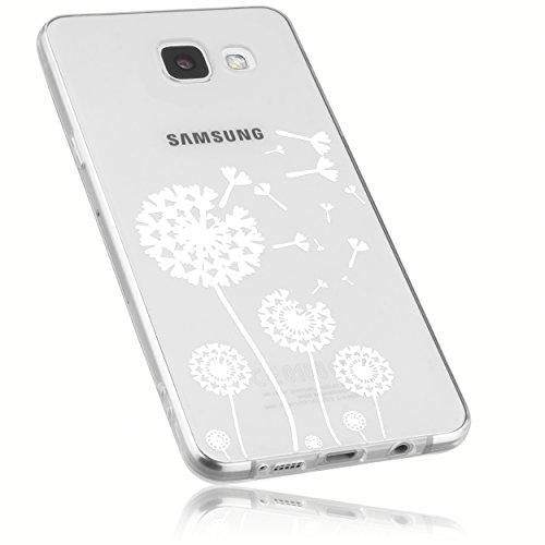 mumbi Hülle kompatibel mit Samsung Galaxy A5 2016 Handy Case Handyhülle mit Motiv Pusteblume, transparent