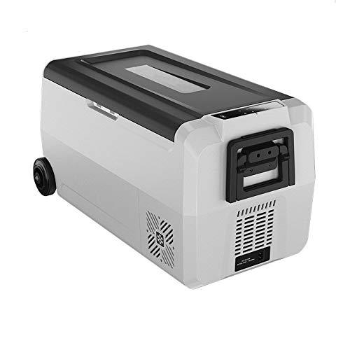 Mini koelkast 36 Liter Portable Compressor Koelkast Diepvries Cooler for Indoor Outdoor Reizen 12V / 220V Eten Refrigeration (Color : White, Size : 72X36X36CM)