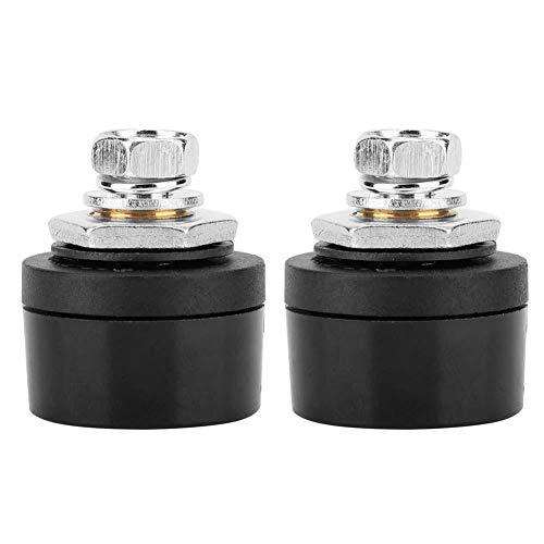 2pcs conector de cable de soldadura europeo 200-400A DKZ con estuche de goma para conexión de potencia de salida de la máquina de soldadura(10-25)