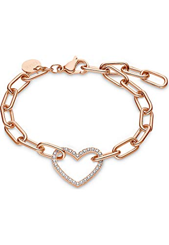 Guido Maria Kretschmer by CHRIST GMK Collection Damen-Armband Edelstahl One Size Rosé 32012876