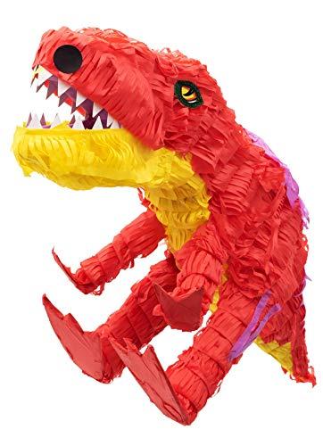 Goodtimes Dinosaurier Pinata, 62cm lang, zum Befüllen mit Süßigkeiten, als Geschenkidee für Geburtstag, Hochzeit, Party