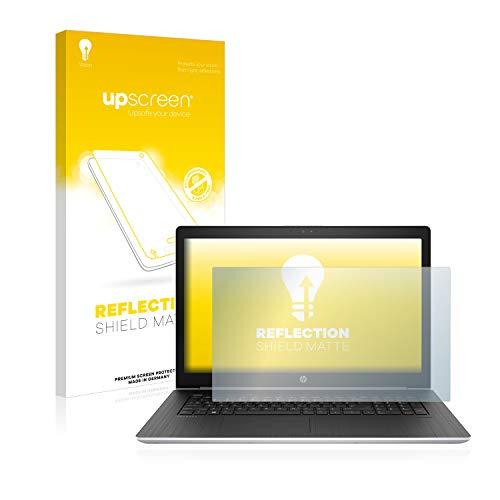 upscreen Entspiegelungs-Schutzfolie kompatibel mit HP ProBook 470 G5 – Anti-Reflex Bildschirmschutz-Folie Matt