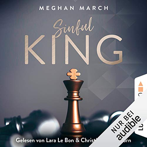 Sinful King audiobook cover art