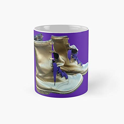 Omega Psi Phi Boots Classic Mug | Best Gift Funny Coffee Mugs 11 Oz