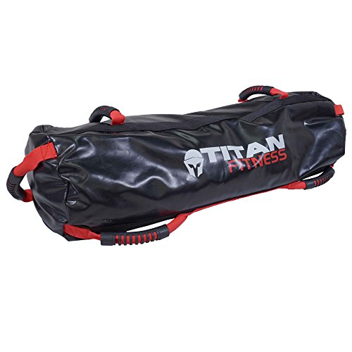 Titan Fitness 60 lb Heavy Duty Workout Weight Sandbag Exercise Training Bag