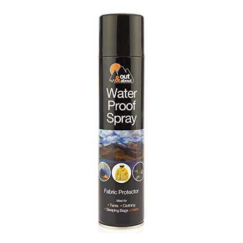 2 x Waterproof Spray Ideal For Tent Sleeping Bags, Rucksacks, Shoes, Boots & Umbrellas Outing Fishing Camping Fabric Protector 300ml