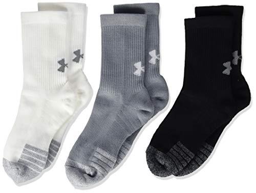 Under Armour Unisex Youth Heatgear Crew Long Sports Socks Compression Socks