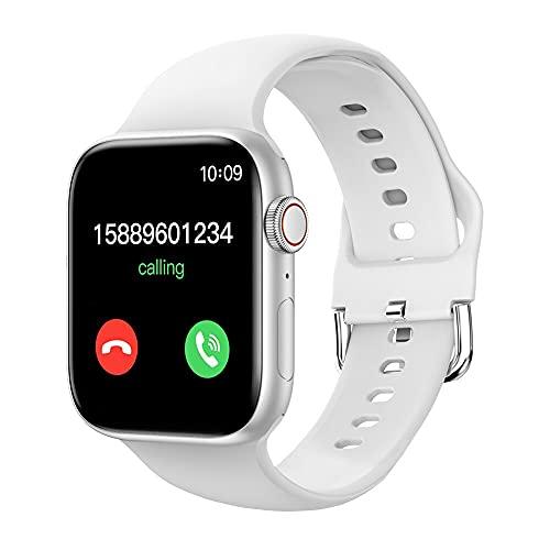 T800 Smartwatch 2021 for IWO 13 VS IWO W56 Men Better Than IWO W46 Women Bluetooth Call Custom dial Smart Watch (White)