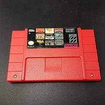 FidgetFidget Super 100 in 1 Game Cartridge 16 bit SNES NTSC for Nintendo Multicart USA Version