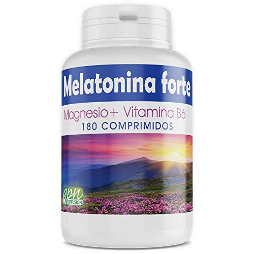 Melatonina Forte 1.8mg - Magnesio y Vitamina B6-180 comprimidos