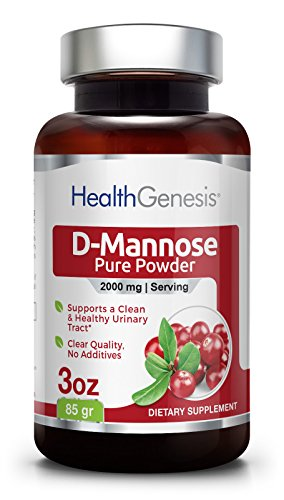 D-Mannose Pure Powder 2000 mg 3 oz 85 g - Urinary Tract Health | Bladder Infection | Support UTI Prevention