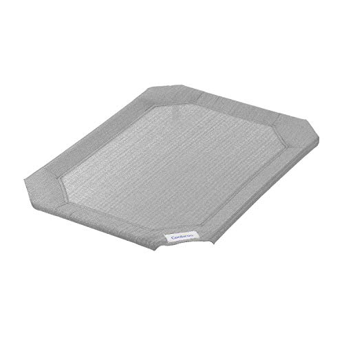Coolaroo Replacement Cover, The Original Elevated Pet Bed by Coolaroo, Medium, Grey